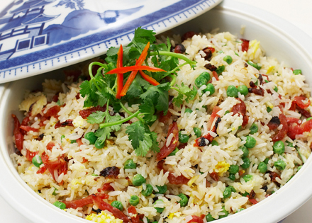 Chinese Sausage Fried Rice