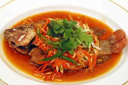 Teach a man to make sweet and sour tilapia red cook for Sweet and sour fish recipe