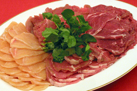 Sliced Meats for Hot Pot