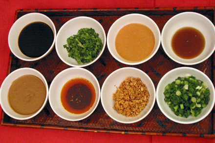 Hot Pot Sauces
